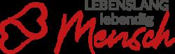 Lebenslang lebendig Mensch Logo