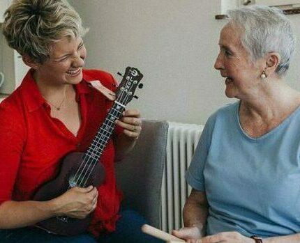 Musizieren mit Senioren