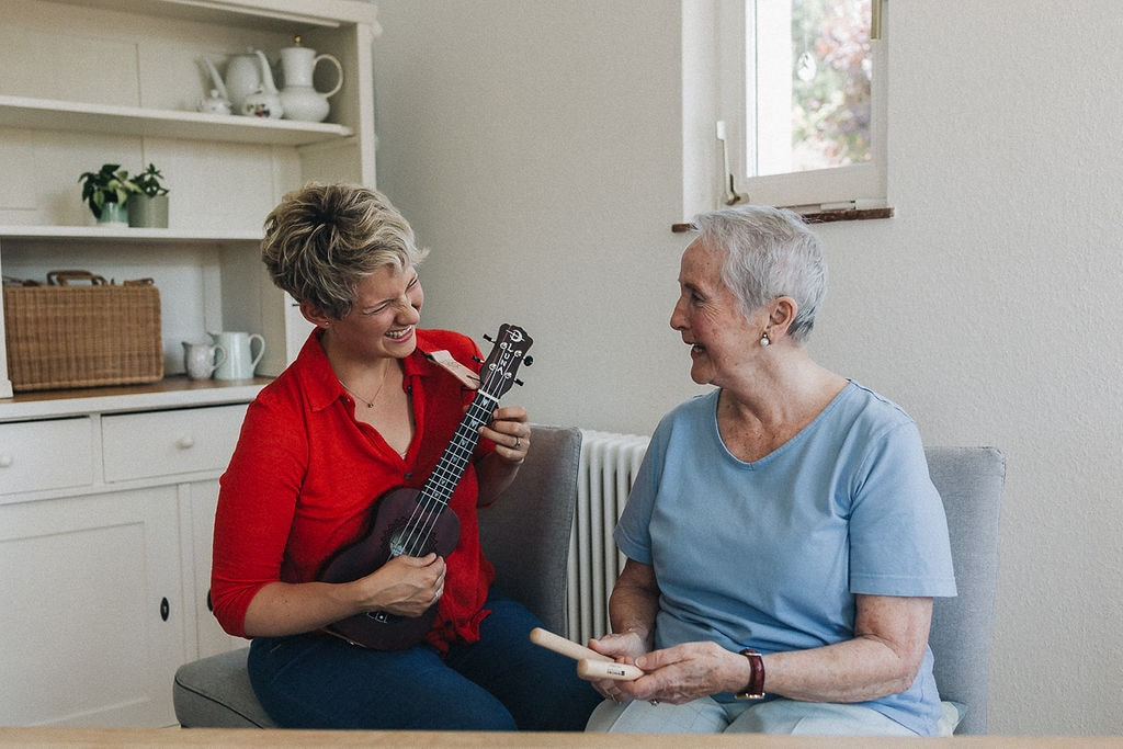 Musik Senioren zuhause